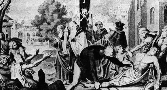 大瘟疫时期的马丁路德