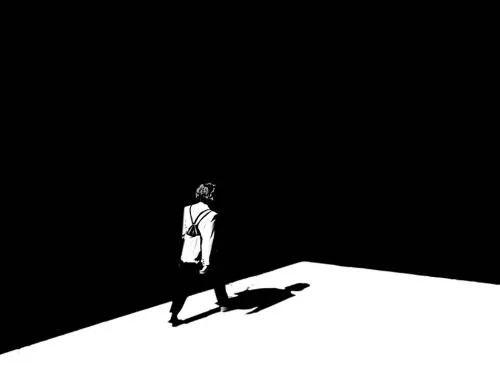 冲出黑暗,奔向光明